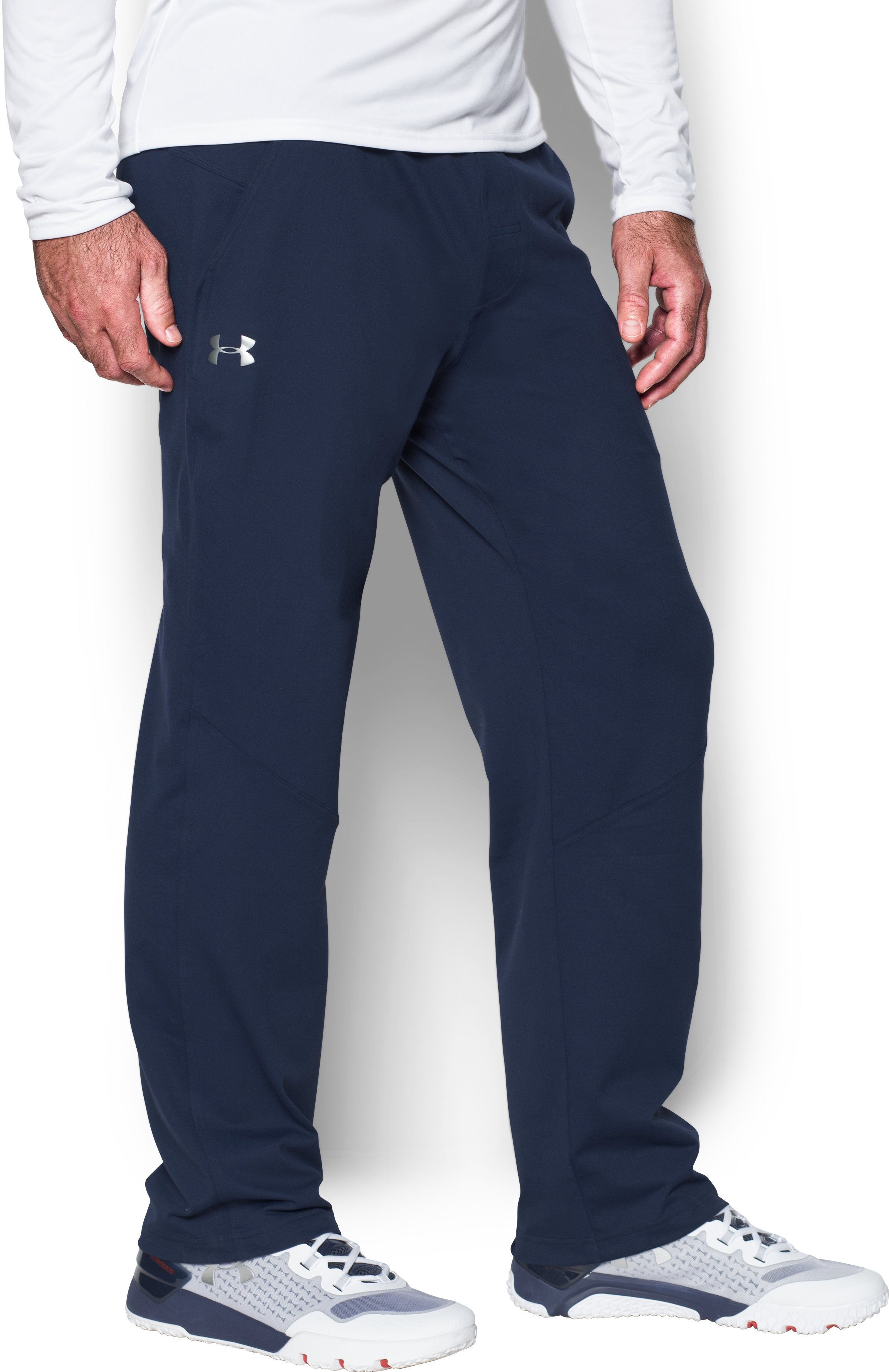 Men's Elevated Knit Pants, Midnight Navy