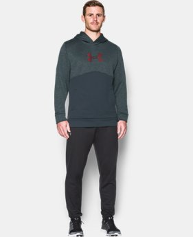 Men's UA Storm Armour® Fleece Logo Twist Hoodie  3 Colors $29.99 to $44.99
