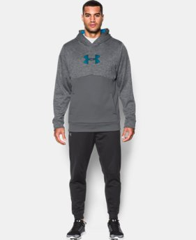 Men's UA Storm Armour® Fleece Logo Twist Hoodie  3 Colors $52.49