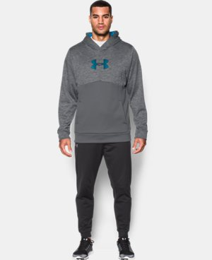 Men's UA Storm Armour® Fleece Logo Twist Hoodie LIMITED TIME: FREE SHIPPING 3 Colors $52.49