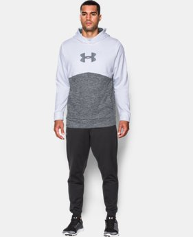 Men's UA Storm Armour® Fleece Logo Twist Hoodie  1 Color $41.99 to $44.99