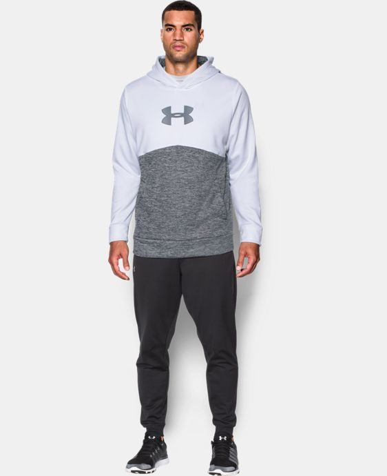 Men's UA Storm Armour® Fleece Logo Twist Hoodie LIMITED TIME: FREE U.S. SHIPPING 1 Color $39.99