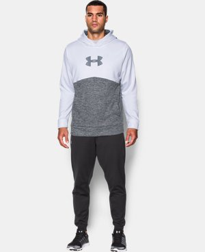 Men's UA Storm Armour® Fleece Logo Twist Hoodie  1 Color $52.49