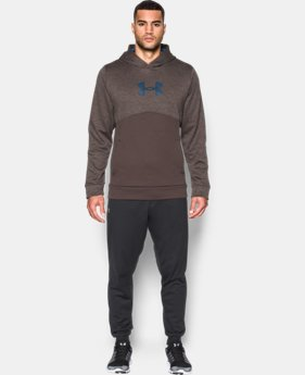 Men's UA Storm Armour® Fleece Logo Twist Hoodie LIMITED TIME OFFER + FREE U.S. SHIPPING 4 Colors $39.99