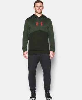 Men's UA Storm Armour® Fleece Logo Twist Hoodie  1 Color $41.99