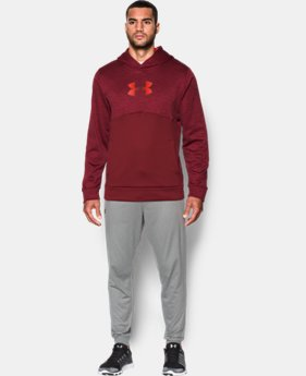 Men's UA Storm Armour® Fleece Logo Twist Hoodie  4 Colors $41.99