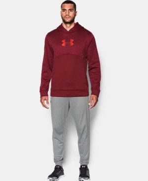 Men's UA Storm Armour® Fleece Logo Twist Hoodie LIMITED TIME OFFER + FREE U.S. SHIPPING 1 Color $39.99