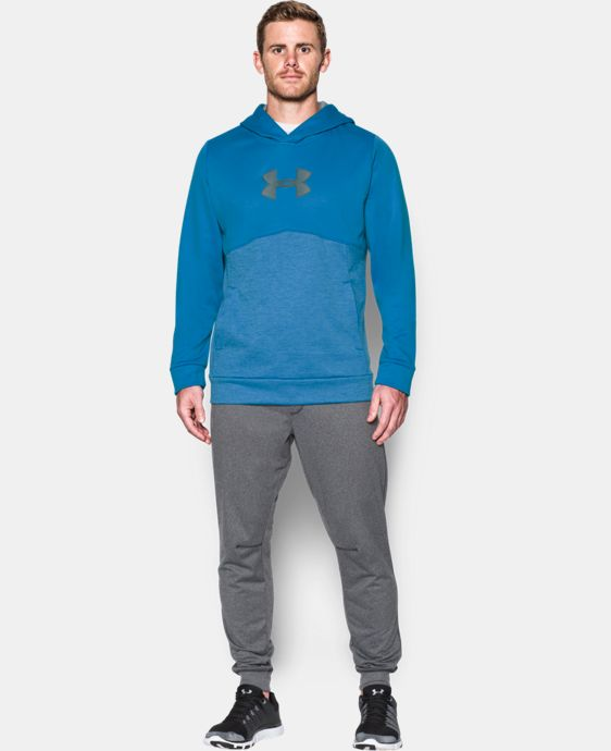 Men's UA Storm Armour® Fleece Logo Twist Hoodie  6 Colors $52.99