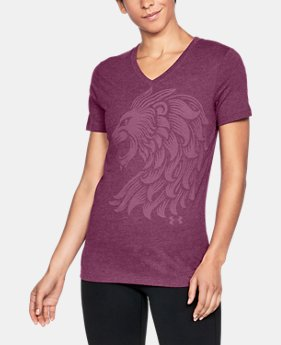 New Arrival Women's Aston Villa Lion T-Shirt  1 Color $30