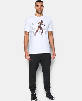 New Arrival Men's UA x Muhammad Ali Pounce Fight Of The Century  T-Shirt  LIMITED TIME: FREE SHIPPING 1 Color $34.99