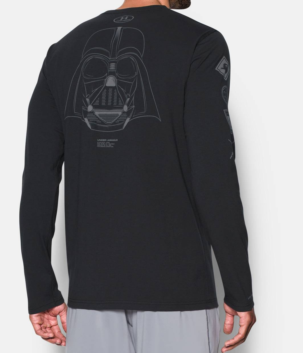 Men 39 S Ua Star Wars Vader Long Sleeve T Shirt Under Armour Us