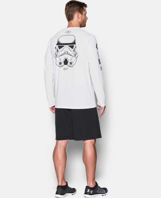 Men's UA Star Wars Trooper Long Sleeve T-Shirt *Ships 12/12/2016*   $44.99