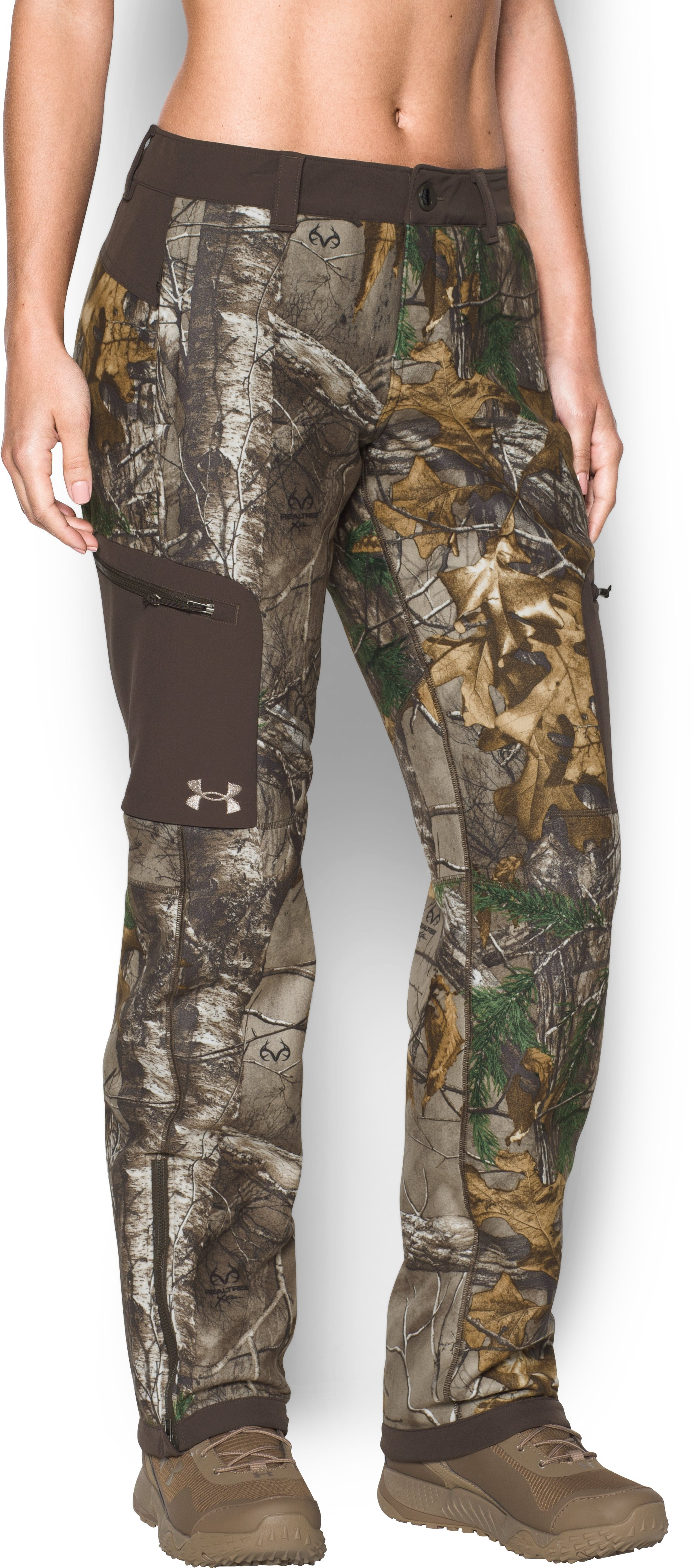 Women's UA Mid Season Pants, REALTREE AP-XTRA