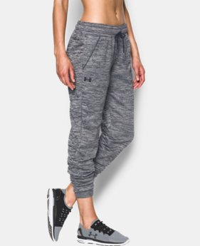 Women's UA Storm Armour® Fleece Lightweight Jogger - Twist  1 Color $59.99