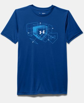 Boys' UA Baseball Plate T-Shirt