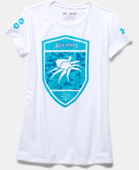 Girls' UA Kulipari Spider Short Sleeve T-Shirt