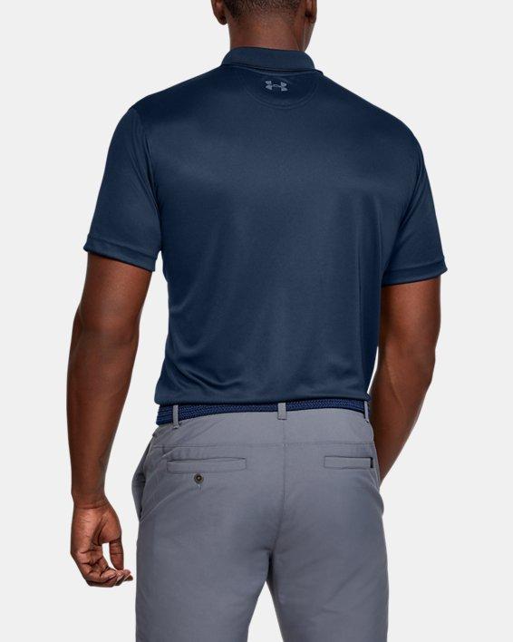 Men's UA Performance Polo, Navy, pdpMainDesktop image number 2