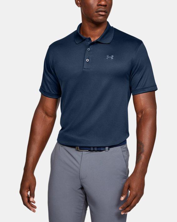 Men's UA Performance Polo, Navy, pdpMainDesktop image number 0