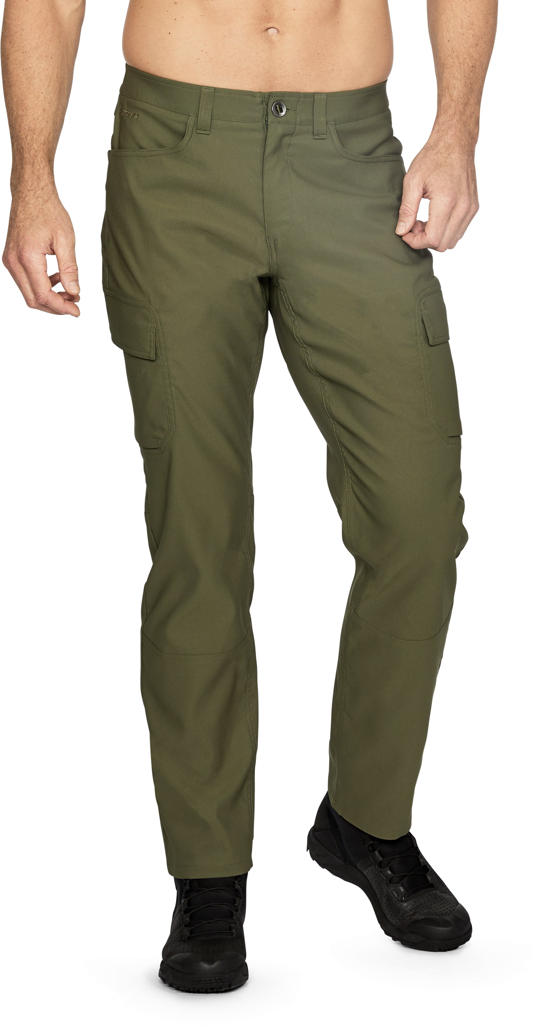 Men's UA Storm Covert Pants, Marine OD Green,