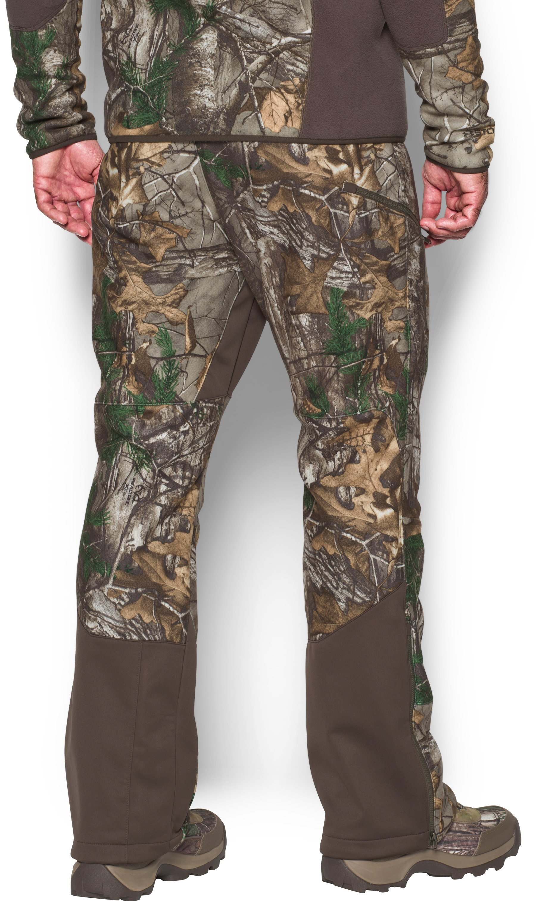 Men's UA Stealth Fleece Pants, REALTREE AP-XTRA
