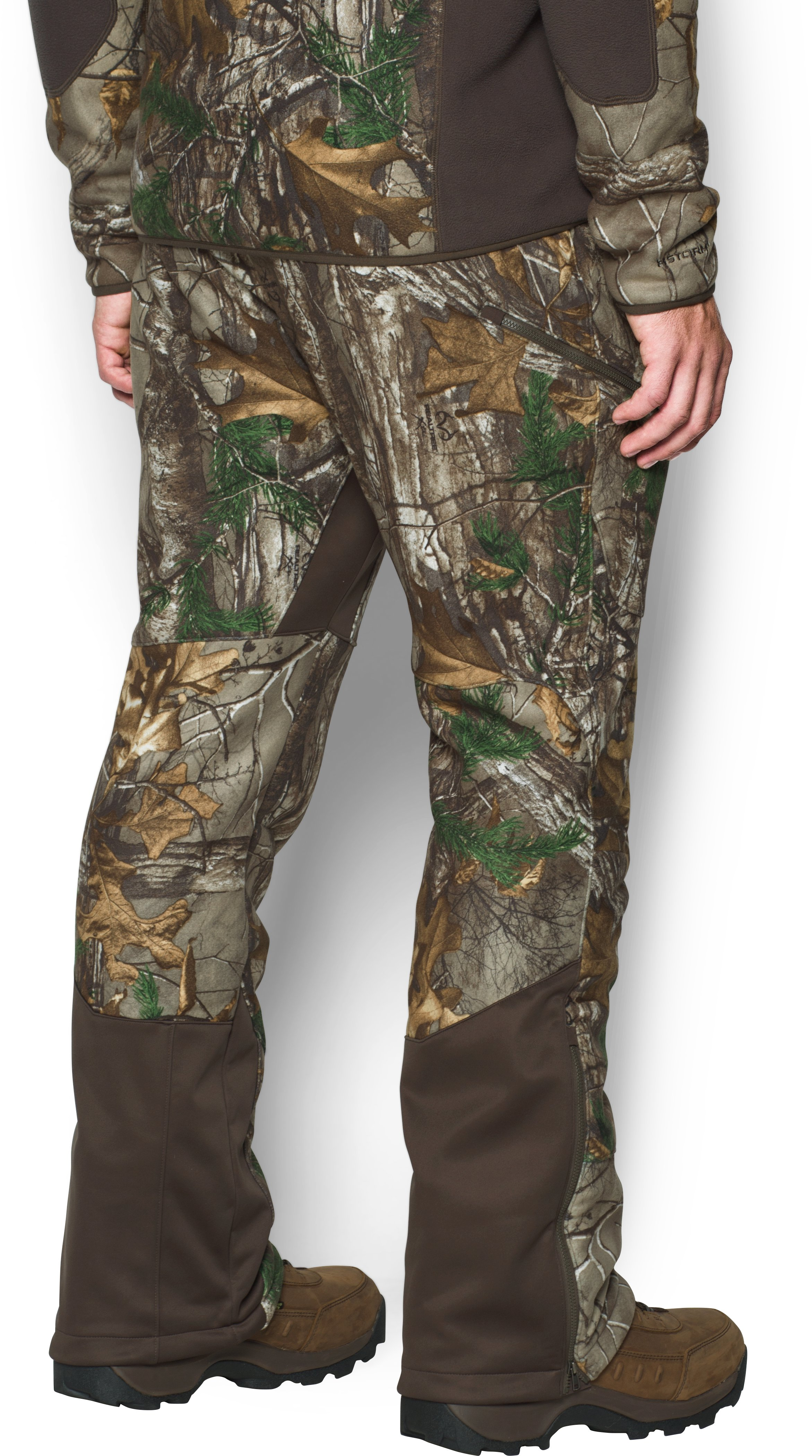 Men's UA Stealth Fleece Pants, REALTREE AP-XTRA, undefined