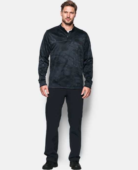 Men's UA Storm Camo ¼ Zip LIMITED TIME OFFER + FREE U.S. SHIPPING  $56.24