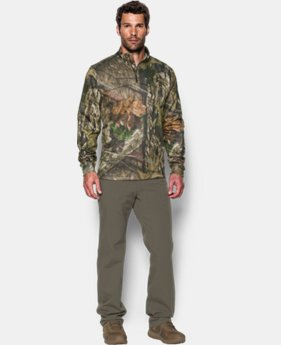 Men's UA Storm Camo ¼ Zip LIMITED TIME OFFER + FREE U.S. SHIPPING 4 Colors $56.24