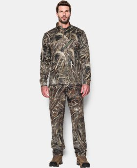 Best Seller  Men's UA Storm Camo ¼ Zip  2 Colors $84.99