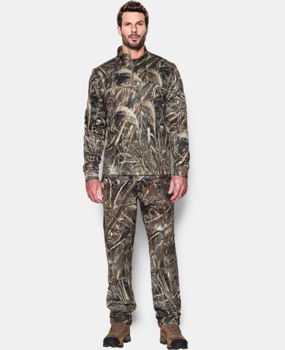 Men's UA Storm Camo ¼ Zip LIMITED TIME: FREE SHIPPING 2 Colors $63.74