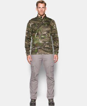 Men's UA Franchise Camo ¼ Zip  4 Colors $74.99
