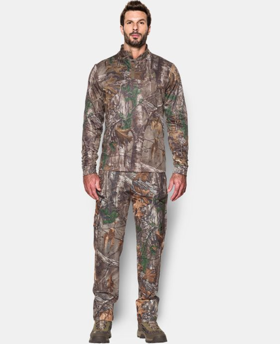 New Arrival  Men's UA Storm Icon Camo ¼ Zip   $63.74