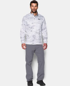 Men's UA Storm Icon Camo ¼ Zip