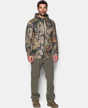 Men's UA Storm Icon Camo Full Zip Hoodie
