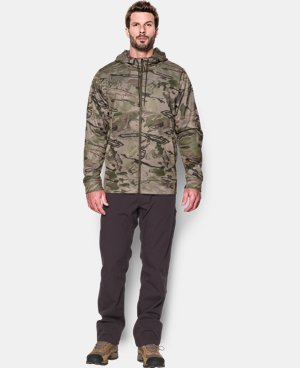 Men's UA Storm Camo Full Zip Hoodie LIMITED TIME OFFER + FREE U.S. SHIPPING 1 Color $67.49