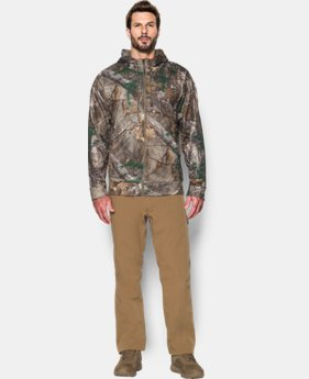 New Arrival  Men's UA Storm Icon Camo Full Zip Hoodie   $104.99
