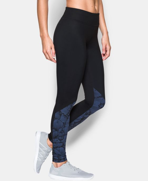 Women's UA Mirror Stripe Floral Legging  1 Color $56.99