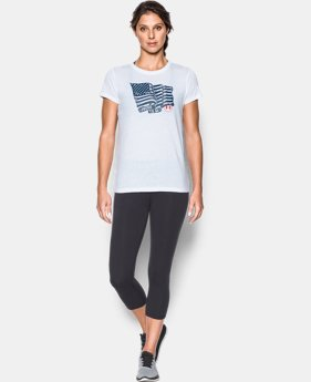 Women's UA Charged Cotton® Tri-Blend Proud To Be T-Shirt   $15 to $17.99