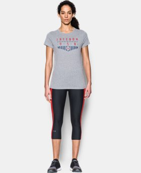Women's UA Freedom USA T-Shirt  2 Colors $17.99
