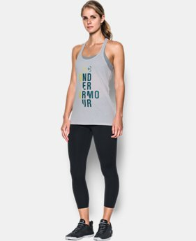 New Arrival Women's UA Graphic Tank  1 Color $24.99