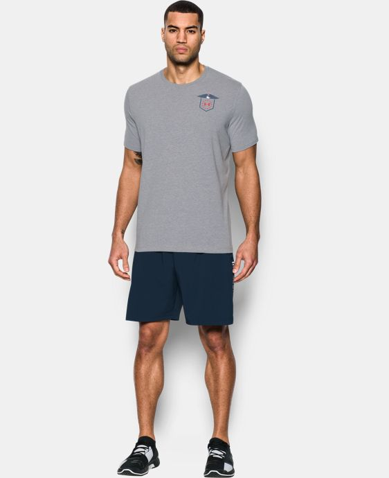 New Arrival Men's UA Freedom Home Of The Brave T-Shirt  1 Color $24.99