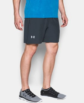 "Men's UA Speed Stride 7"" Shorts  1 Color $34.99"