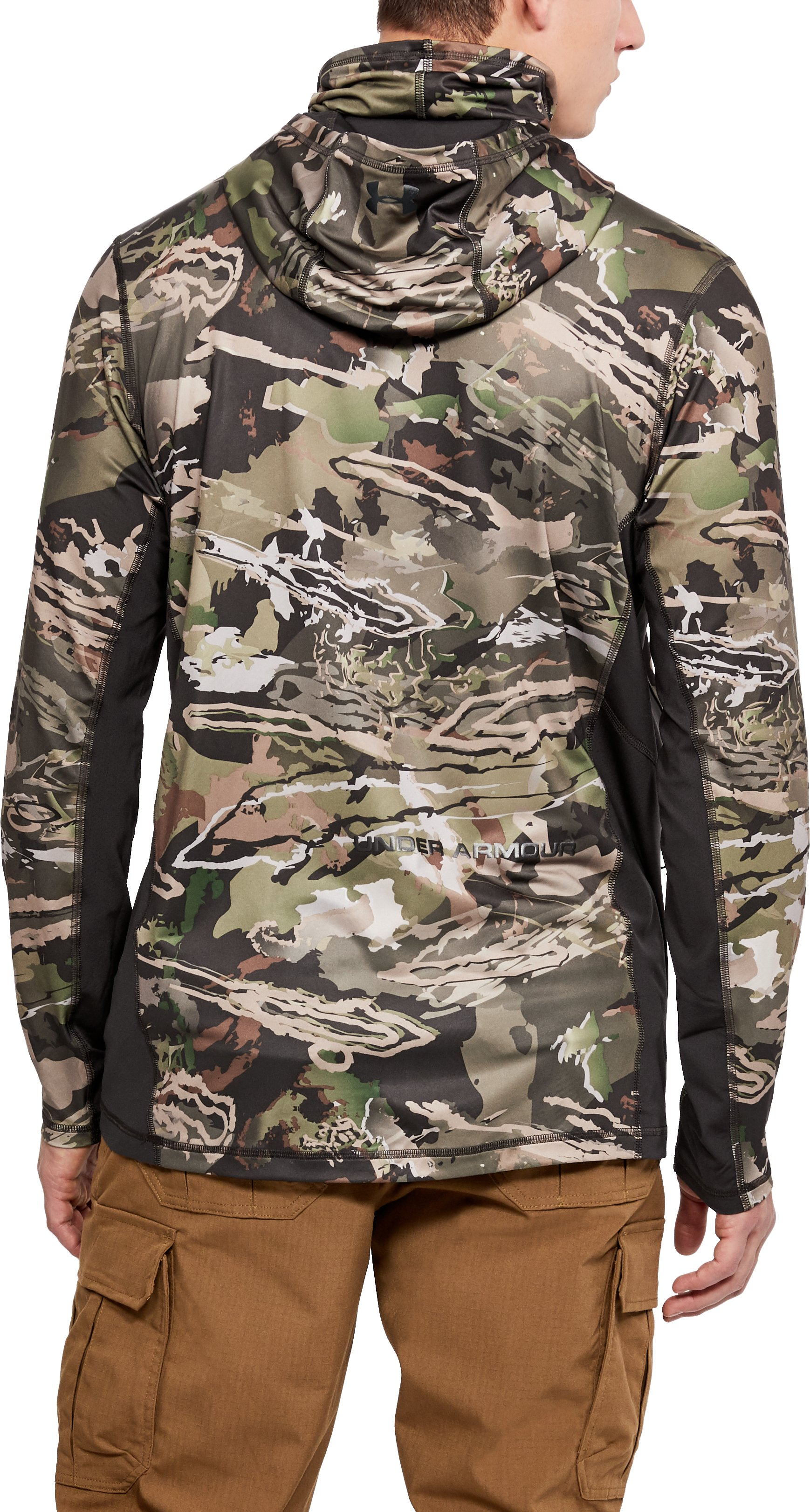 Men's UA Ridge Reaper® Turkey Ninja Hoodie, RIDGE REAPER® FOREST,