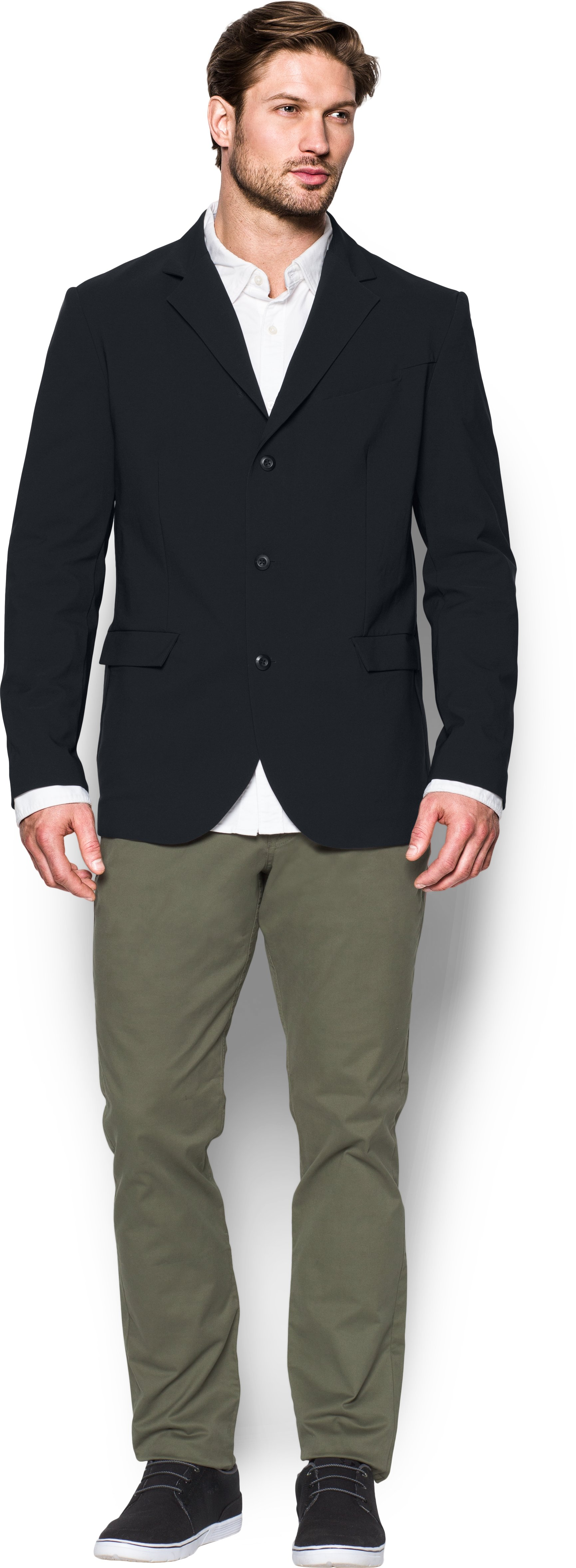Men's UA Performance Blazer, Black ,