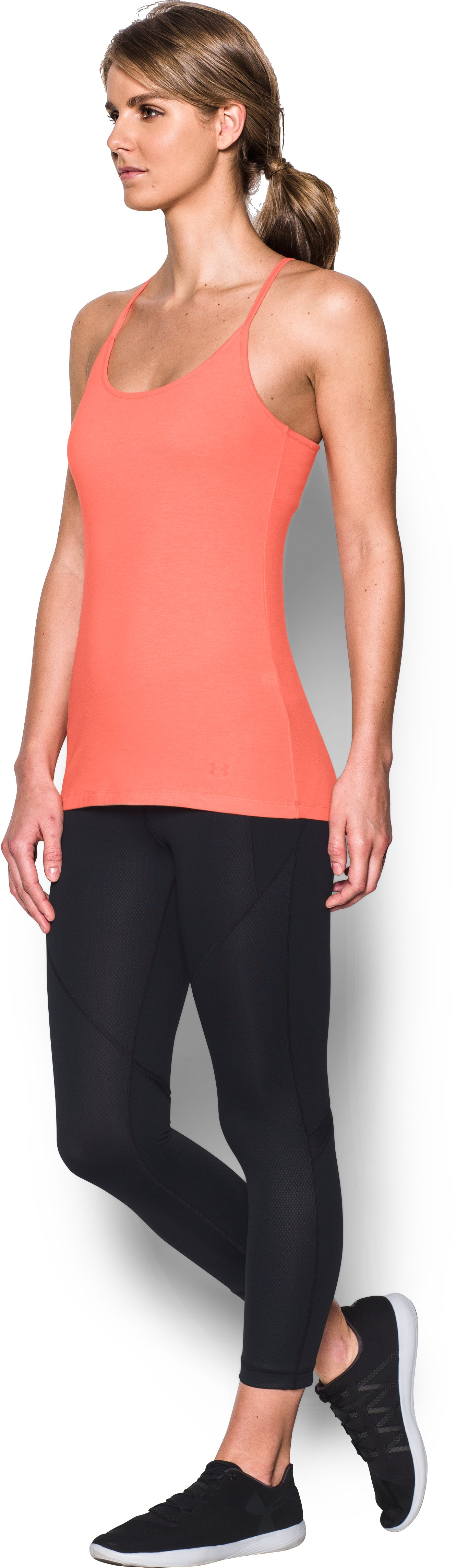 Women's UA Rest Day Cami, LONDON ORANGE, undefined