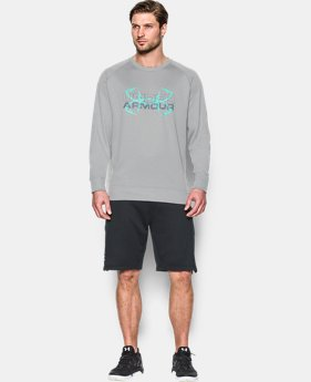 Men's UA Shoreline Crew  1 Color $32.99