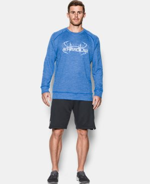 New Arrival Men's UA Shoreline Crew  1 Color $54.99
