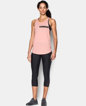 New Arrival Women's UA No Cheat Days Strappy Tank  1 Color $29.99