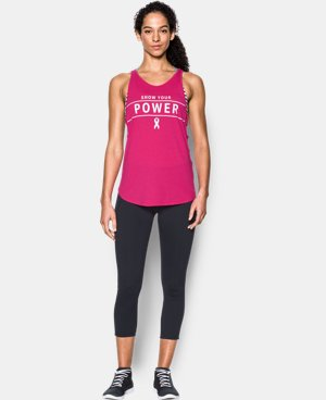 New Arrival Women's UA Power In Pink® Your Power Strappy Tank  1 Color $29.99