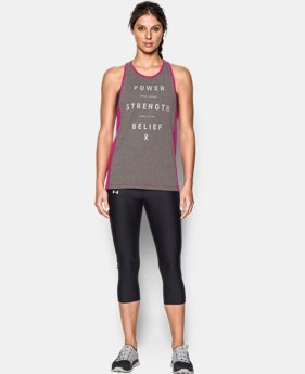 New Arrival  Women's UA Power In Pink® Inset Tank  2 Colors $39.99