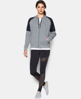 New Arrival  Women's UA Favorite French Terry Warm Up Hoodie  2 Colors $84.99